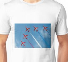 Red Arrows five ship Unisex T-Shirt