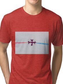 Red Arrows synchro pair Tri-blend T-Shirt