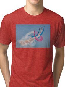 Red Arrows twister Tri-blend T-Shirt