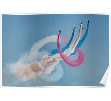 Red Arrows twister Poster