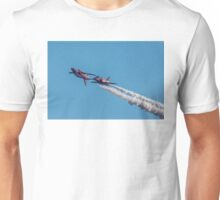 Red Arrows mirror pair Unisex T-Shirt
