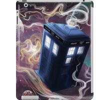 TARDIS In The Time Vortex iPad Case/Skin