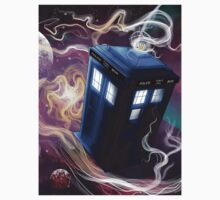 TARDIS In The Time Vortex Kids Clothes