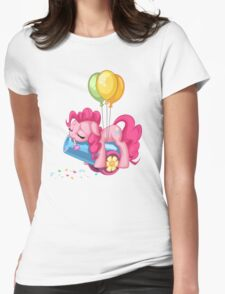 Pinkie Pie Party Pooped Womens Fitted T-Shirt