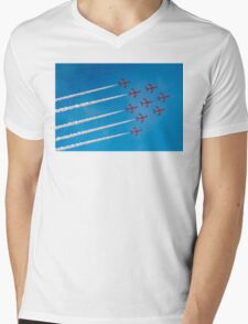 Red Arrows Apollo formation Mens V-Neck T-Shirt