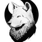 Inkpen Wolf by Marti Makes Things