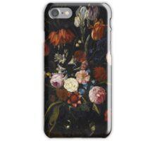 Jan van Kessel de Oude - Een stilleven van tulpen, een keizerskroon, flowers iPhone Case/Skin