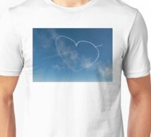 Red Arrows heart and spear Unisex T-Shirt