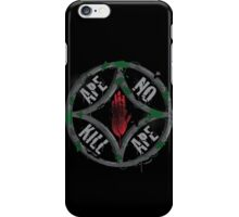 Ape no kill ape iPhone Case/Skin