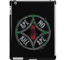 Ape no kill ape iPad Case/Skin