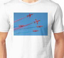 Red Arrows Enid break Unisex T-Shirt
