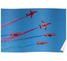 Red Arrows Enid break Poster
