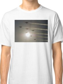 Red Arrows backlit arrival Classic T-Shirt