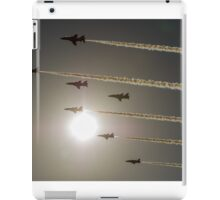 Red Arrows backlit arrival iPad Case/Skin