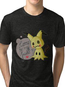 MIMIKYU LOVE Tri-blend T-Shirt