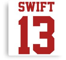 Swift 13 Canvas Print