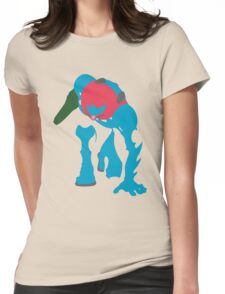 Fusion Suit Samus Womens Fitted T-Shirt