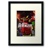 Revengers Framed Print