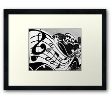 Only Serious Framed Print