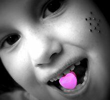 Pink heart by Tamara Brandy