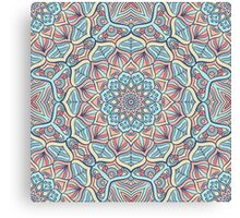 Kaleidoscope mandala Canvas Print
