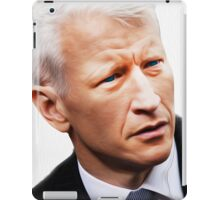 """These Eyes are A National Treasure"" [ Anderson Cooper ] iPad Case/Skin"