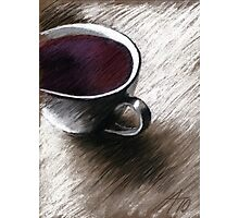 Flieder - Kaffee Photographic Print