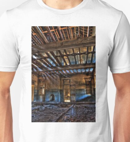 Take a Seat By The Fireplace..... Woogaroo - Abandoned Mental Asylum. Unisex T-Shirt