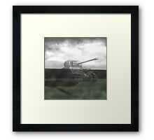 M4 Sherman  Framed Print