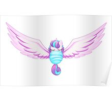 Flurry Heart Wings Poster