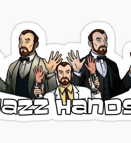Jazz Hands Sticker