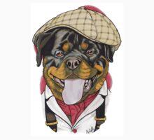 Victorian Rottweiller One Piece - Short Sleeve