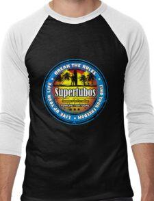 Wild Beach Supertubos Men's Baseball ¾ T-Shirt