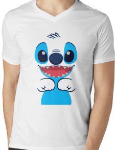 Lilo and Stitch Mens V-Neck T-Shirt