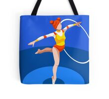 Gymnastics Rhythmic Hoop  Tote Bag