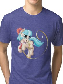Coco Pommel Tri-blend T-Shirt