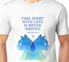 Cats Psychoanalysis Unisex T-Shirt