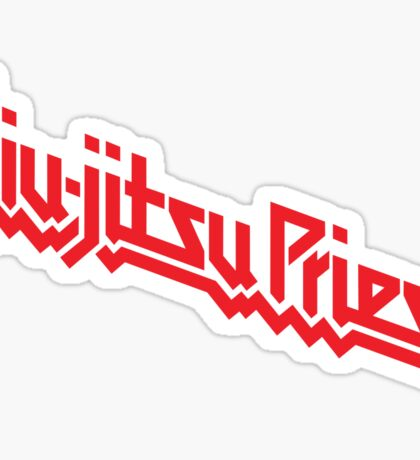 Jiu-Jitsu Priest Sticker