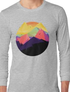 Oh the mountains Long Sleeve T-Shirt