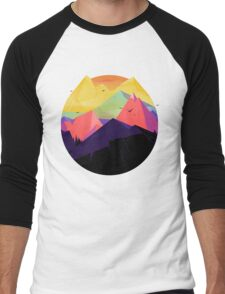 Oh the mountains Men's Baseball ¾ T-Shirt