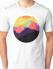 Oh the mountains Unisex T-Shirt