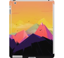 Oh the mountains iPad Case/Skin