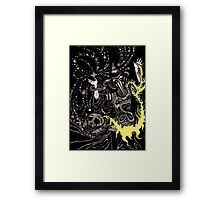 A Deluge of Plague and Stardust Framed Print