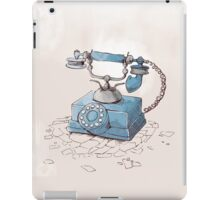 Old Telephone iPad Case/Skin