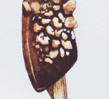 frozen banana (and nuts) Sticker