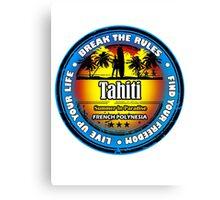 Good Time In Tahiti Canvas Print