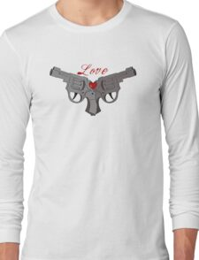 Love guns Long Sleeve T-Shirt