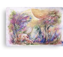 Dance of Nature Canvas Print
