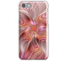 Abstract Butterfly, Colorful Fantasy Fractal Art iPhone Case/Skin