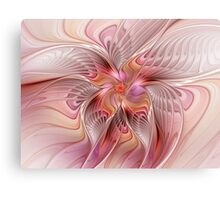 Abstract Butterfly, Colorful Fantasy Fractal Art Canvas Print